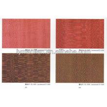 placage de bois de lacet teint chinois