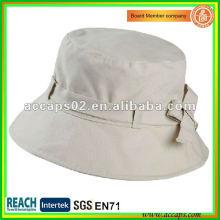 2012 sombrero blanco popular BH1261 del cubo del bowknot
