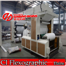 Tissue/Napkin/Toilet Paper Flexo Printing Machine