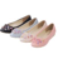 2016 alta qualidade senhoras couro falt sapatos mulheres sapato plano