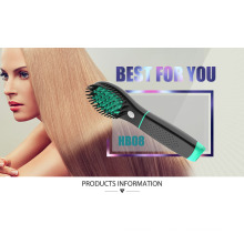 Rechargeable Cordless Battery Hair Brush Straightener