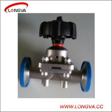 Sanitary Stainless Steel Diaphragm Control Valve
