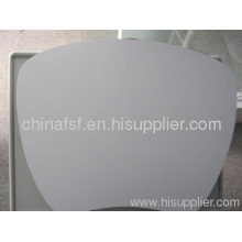 Without Led Laptop Table White Color Shaped Table