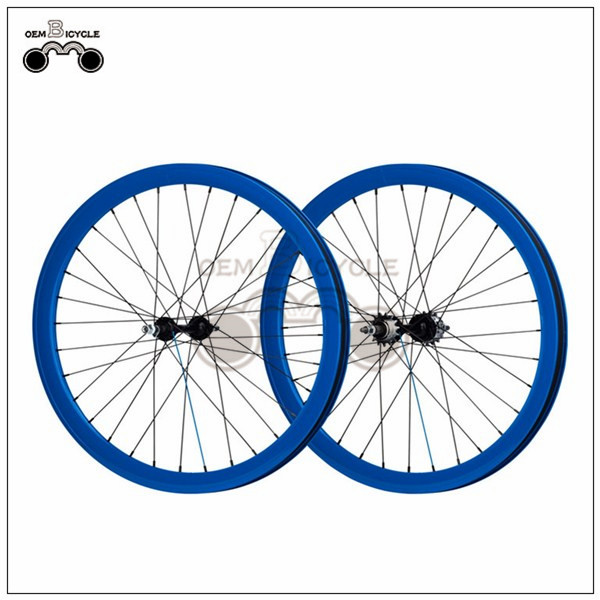 700C 40mm fix double-walled aluminum wheelset7