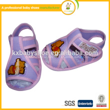 2015Cheap China Wholesale flat lovely crochet kids baby sandals sapatos todder shoes