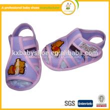 2015Cheap фарфора оптовые плоские симпатичные вязание крючком детские ботинки сандалий обувь todder