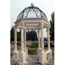 Stone Marble Garden Pavilion for Antique Outdoor Sculpture (GR063)