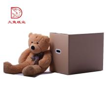 Caja de empaquetado del juguete suave cuadrado de encargo disponible de la fábrica del OEM
