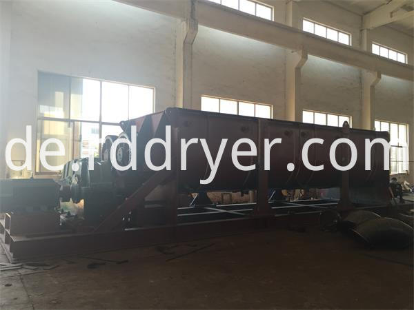 Continuous Paddle Drying Machine for Starch Paste