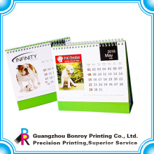 Customized Small size 2018 & 2019 paper desk calendars