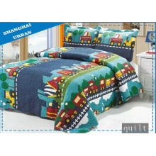 100%Cotton Cartoon Print Bedding Bed Cover (Quilt)
