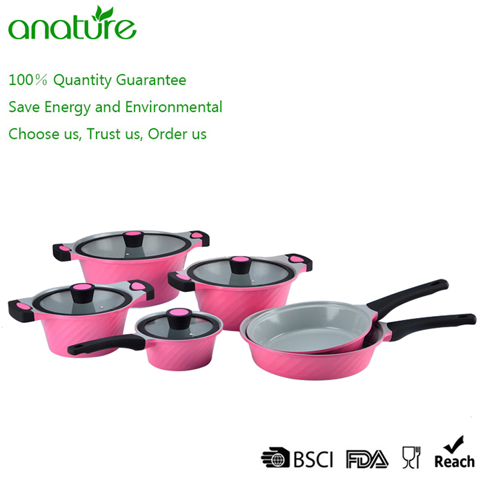 Masterclass New Style Die Cast Aluminum Nonstick Cookware Set
