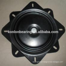 10 polegadas barstool metal giratório placa   Barra de fezes mecanismo giratório