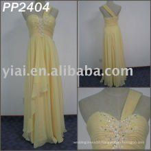 2011 free shipping high quality chiffon beaded strapless beaded elgant evening dress 2011 PP2404