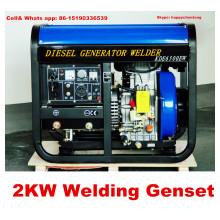 Neuer Entwurf 2kw Schweißen Generator Niedrigster Preis und bester Service