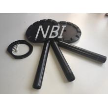 Aleación de cinc negro piezas de fundición piezas