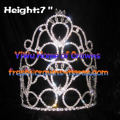 Big Heart Crystal Pageant Crowns