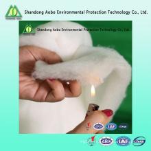 Approvisionnement d'usine non-tissé ignifuge ouate de polyester pour le matelas