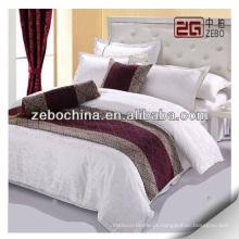 Fornecimento decorativo lenço cama de hotel