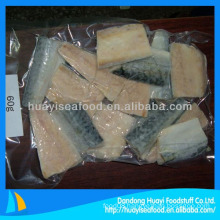 frozen vacuum packed mackerel fillet
