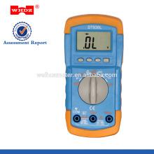 Multímetro digital DT930L con rango automático de retroiluminación
