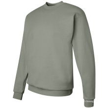 Long Sleeve Custom Solid Color Crew Neck Fleece