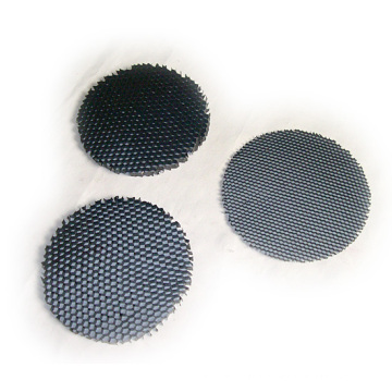 Round Shape Black Honeycomb Core Lighting