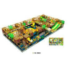 Residential Preschool Soft Indoor Playground Play Area Equipment Design