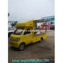 Venta caliente China mini tienda móvil, camión tienda móvil para la comida rápida
