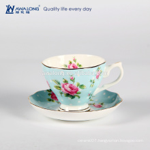 China High quality bone china drinkware ceramic sets