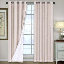 Leinen Blackout Curtains Wärmeisolierte Gardinenvorhänge