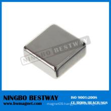 N45sh Block Neodymium Iron Boron Magnets