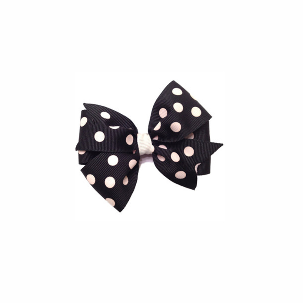 Satin Bow with dot