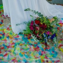 Горячая продавая Eco-содружественные biodegradable конфетти бумаги прямоугольник
