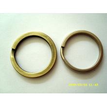 Custom metal key chain and key ring
