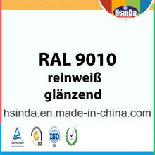 Ral Color Ral 9010 Revestimiento en polvo blanco puro