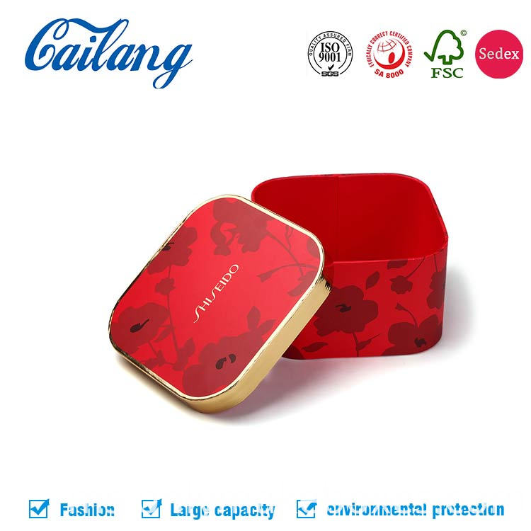 Unique shape Special Design CosmeticRound Paper Packaging Box with hat