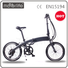 MOTORLIFE/OEM BRAND 20 inch electric folding bicycle, foldable e-bike for young