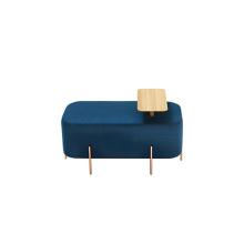 China supplier OEM for Pouf Ottoman Stainless Steel Frame Elephant Ottoman Stool Pouf export to Russian Federation Factories