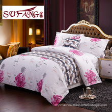 High Quality Hotel Bedding sets 60s cotton print bedding sets