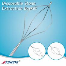 Extracción de piedra disponible cesta para gastroscopio/digestivo
