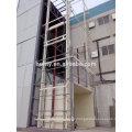 NEW building materials warehouse platform lift Guide rail hydraulic lifting platform