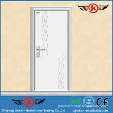 JK-P9012 porte penderie en pvc blanc poteau de cuisine / pvc flush door