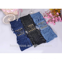 leisure wome's cording jean elastic belt