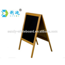 Factory direct standing wooden blackboard