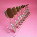 Clear Acrylic Brush Storage Organizer Cosmetic Shelf