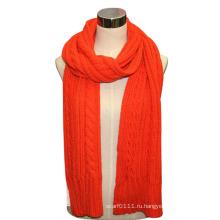 Леди шерсть акрил вязаный шарф (YKY4322)