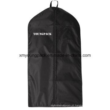 Custom personalizado Black PEVA Suit Cover