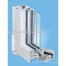 Profilé en aluminium à rupture thermique pour fenêtres et portes