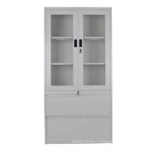 Стальной шкаф / стеклянной дверью химический шкаф хранения / шкаф хранения